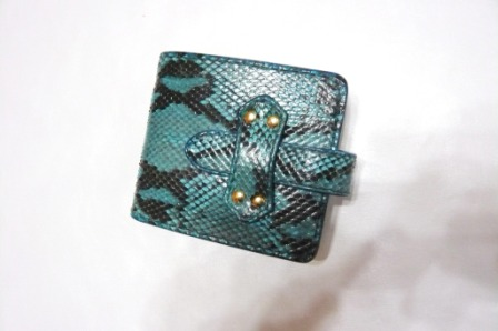 折財布(パイソン)