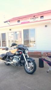 お店バイク